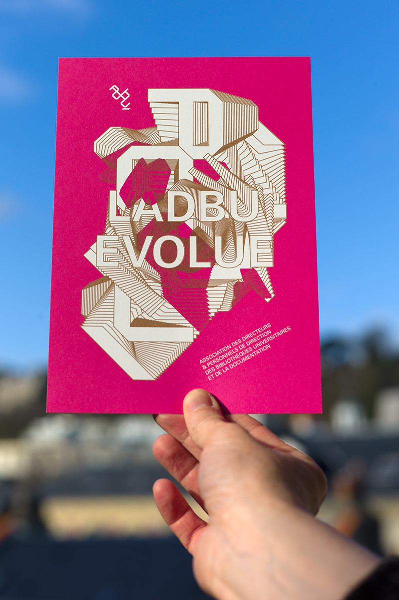 Virgile Laguin – Diary | 10.11.2012 | L'ADBU évolue | Cardboard, Identity, Print
