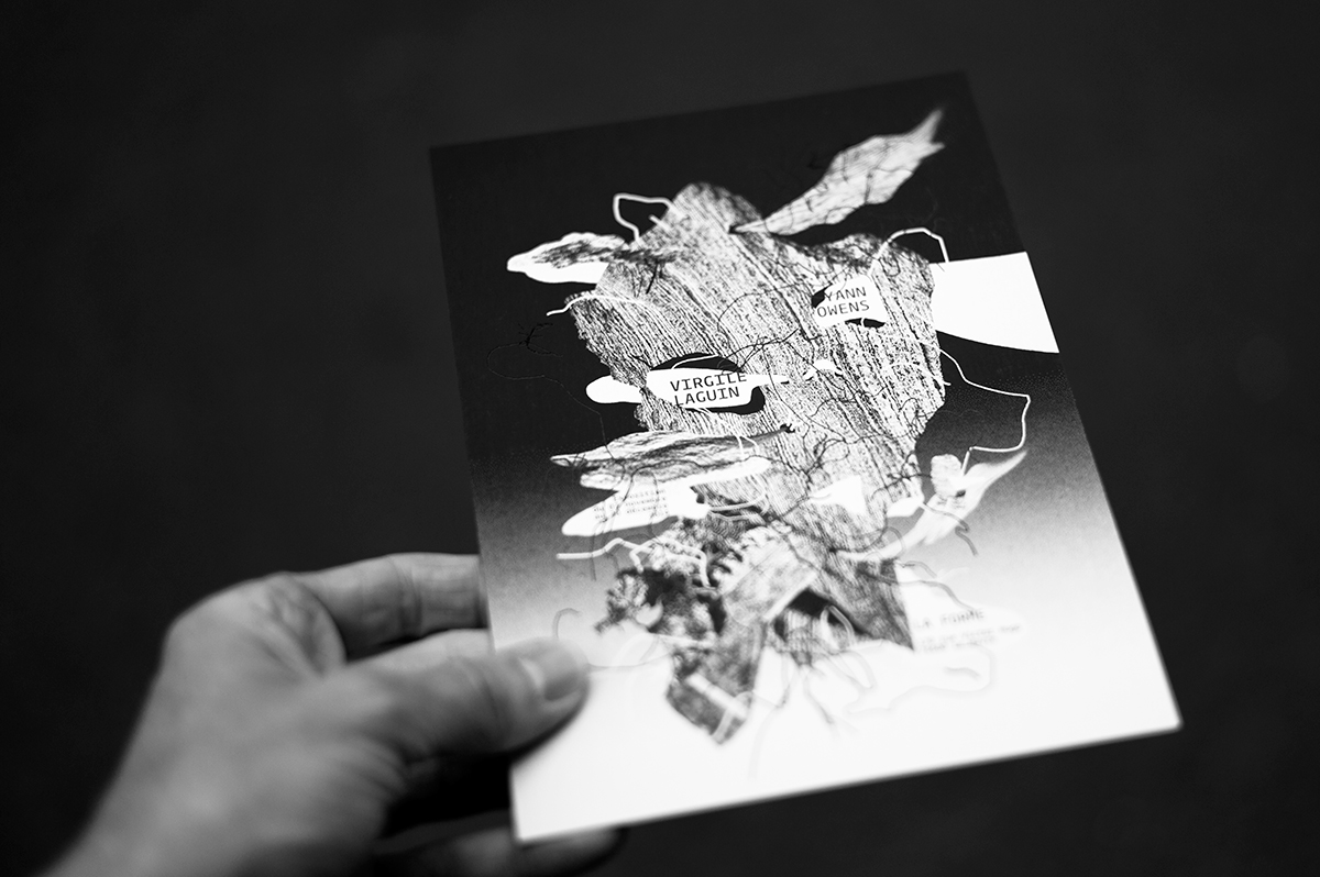 Virgile Laguin – Diary | 03.11.2014 | Carton d'invitation | Cardboard, Print, Silkscreen