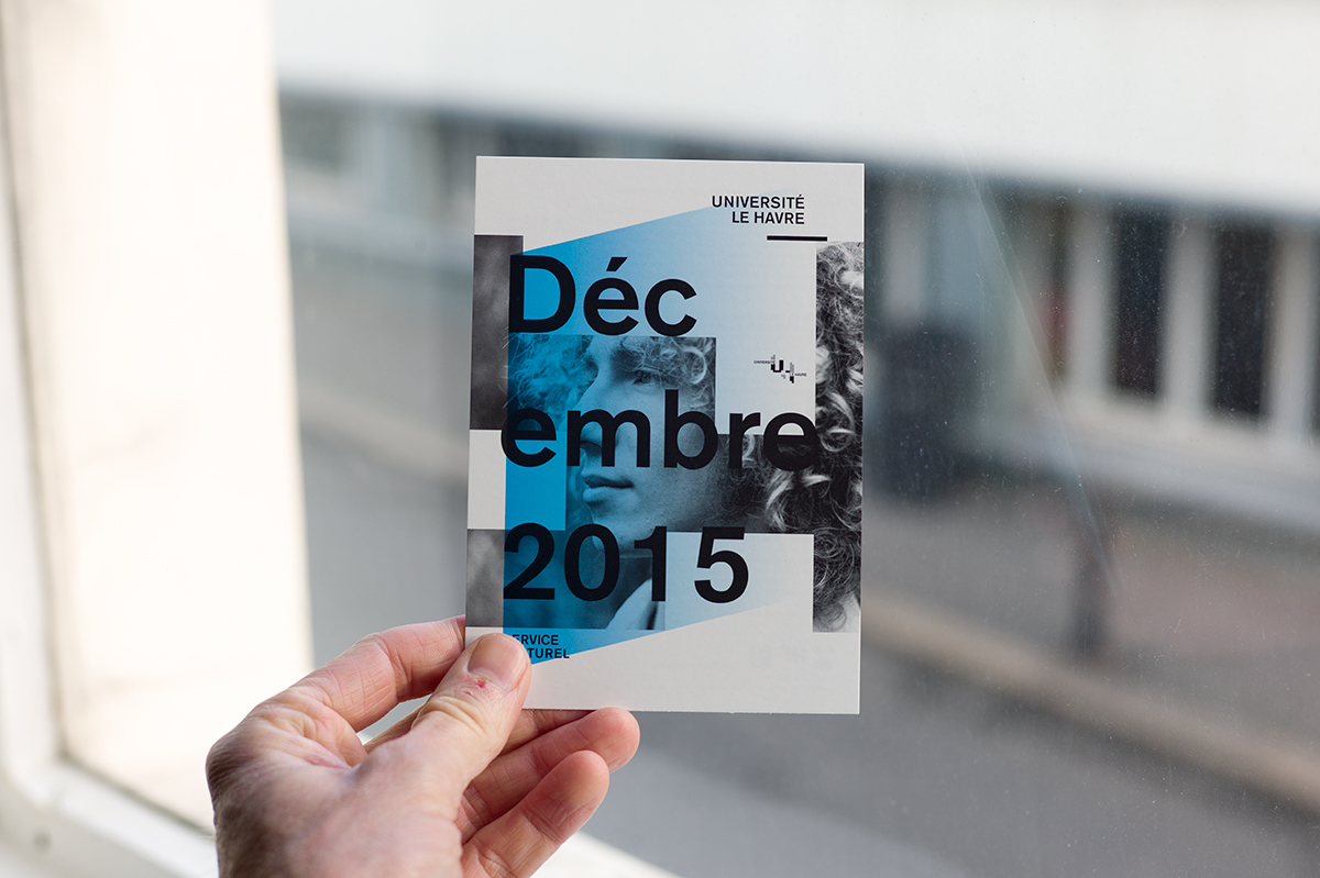 Virgile Laguin – Diary | 01.12.2015 | Programmation culturelle université Le Havre | Cardboard, Identity, Print