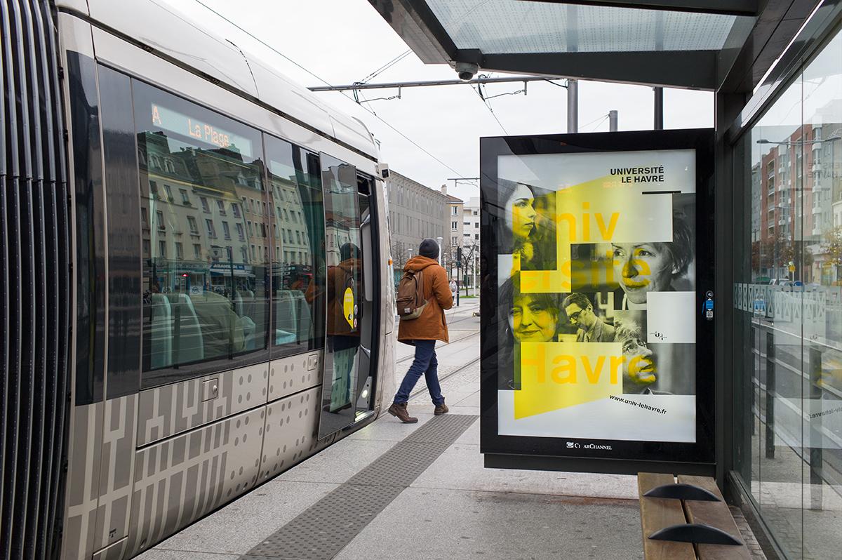 Virgile Laguin – Diary | 01.12.2015 | Université Le Havre | Identity, Poster, Print, Silkscreen