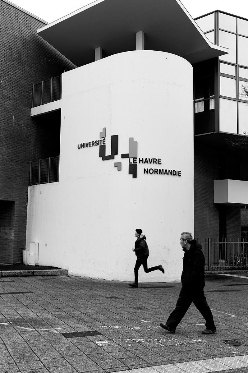 Virgile Laguin – Diary | 06.03.2017 | Université Le Havre Normandie | Identity, Signage