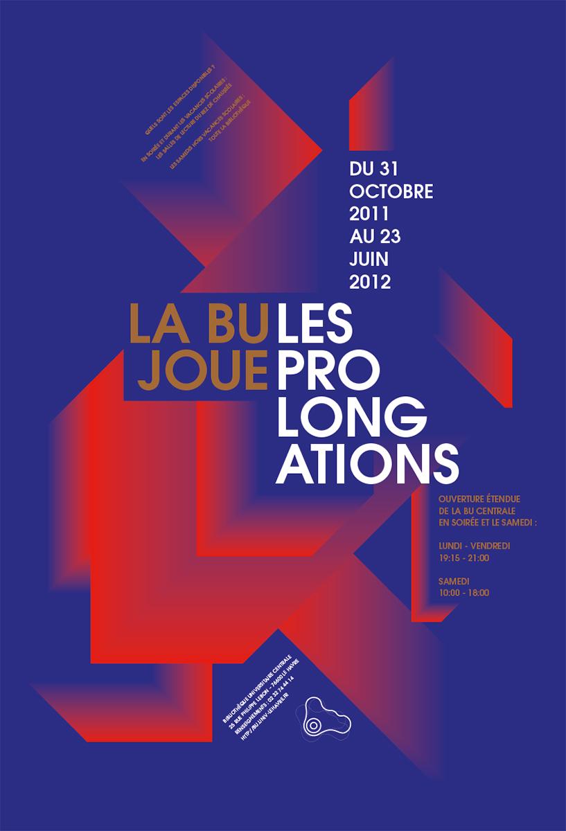 Virgile Laguin – Diary | 31.10.2011 | La BU joue les prolongations 2011/2012 | Poster, Print, Silkscreen