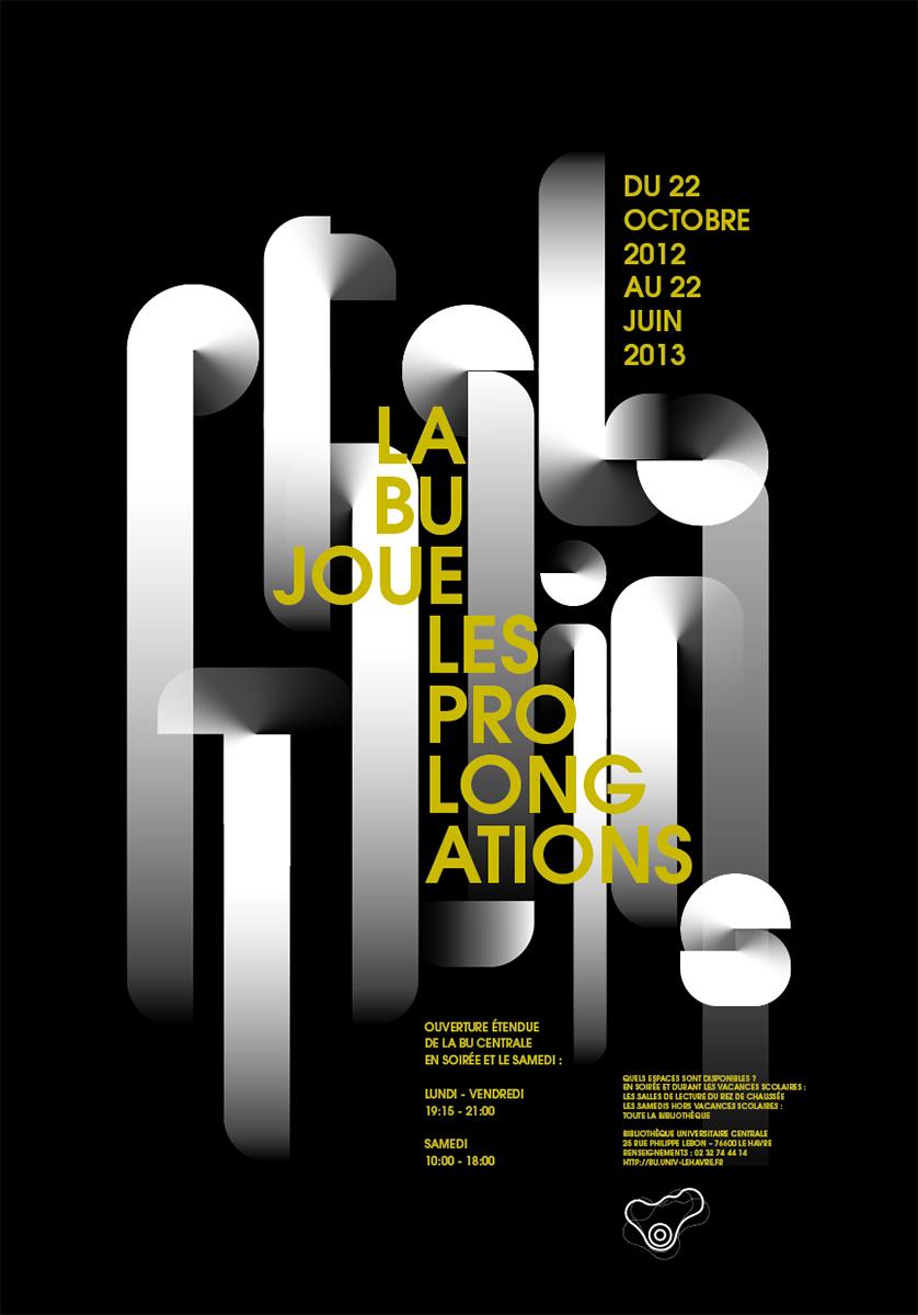 Virgile Laguin – Diary | 22.10.2012 | La BU joue les prolongations 2012/2013 | Poster, Print, Silkscreen