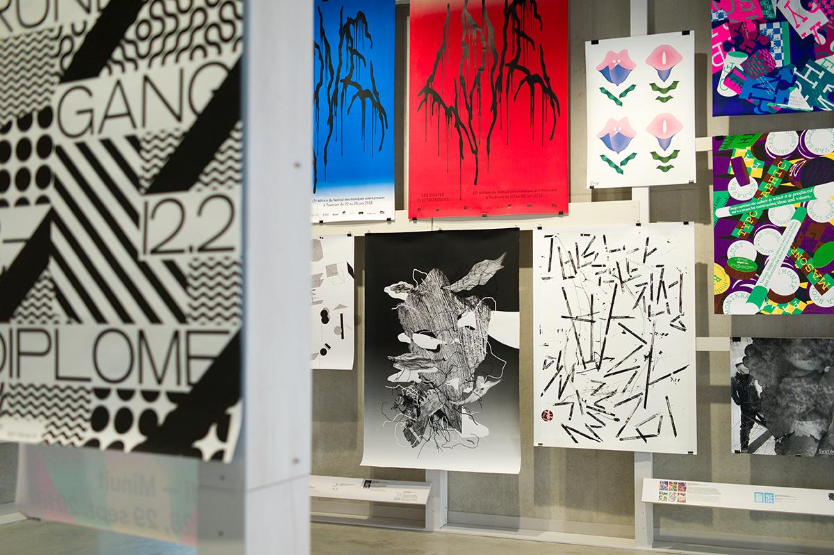 Virgile Laguin – Diary   21.05.2017   Sélection concours international d'affiches de Chaumont 2017   Exhibition, Poster, Print, Silkscreen