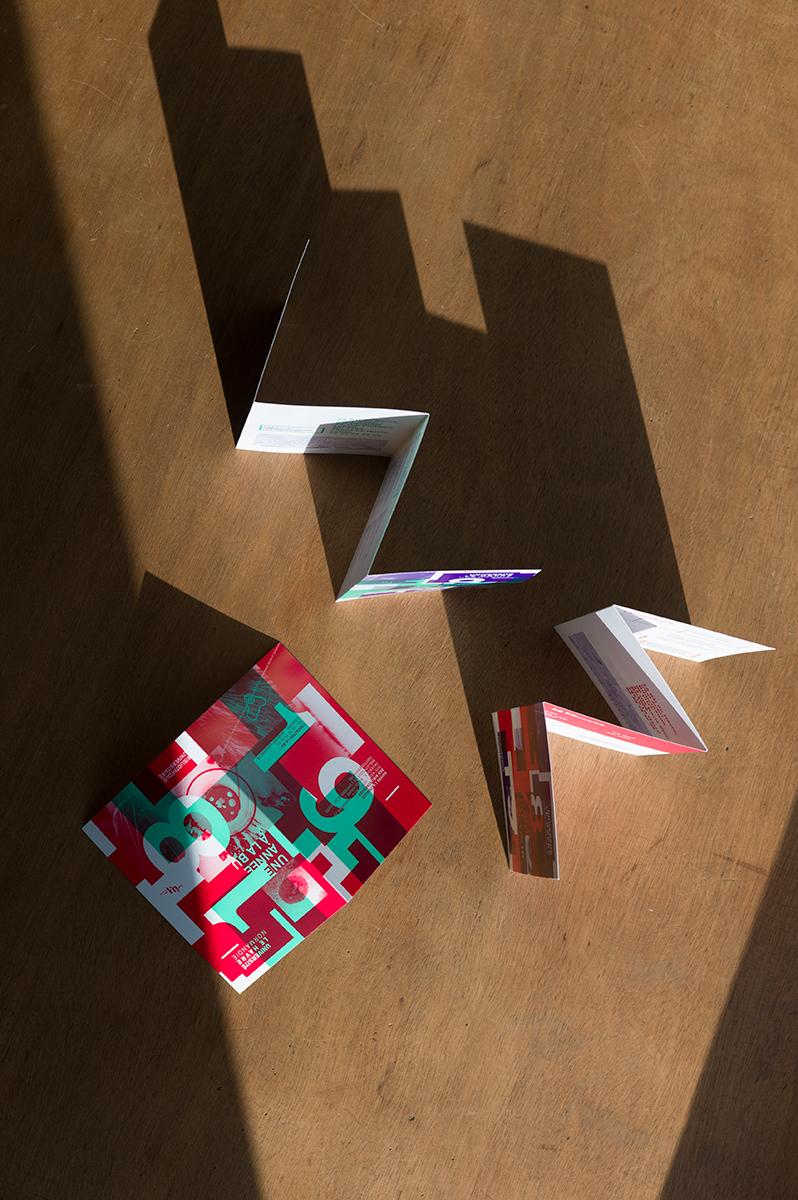 Virgile Laguin – Diary | 04.09.2018 | Guide du lecteur et calendrier 2018/2019 BU Le Havre | Cardboard, Identity, Print