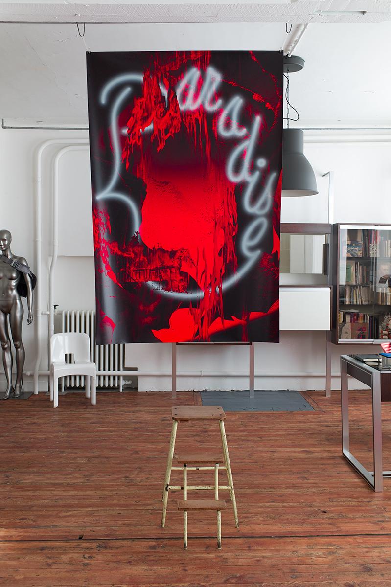 Virgile Laguin – Diary | 03.04.2019 | Paradise / Festival Are you experiencing / La Glacière | Exhibition, Poster, Print, Silkscreen