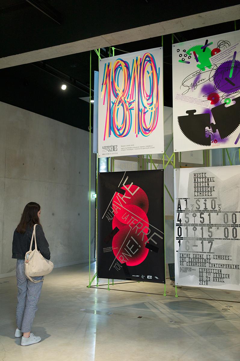 Virgile Laguin – Diary | 25.05.2019 | Sélection concours international d'affiches de Chaumont 2019 | Exhibition, Poster, Print, Silkscreen