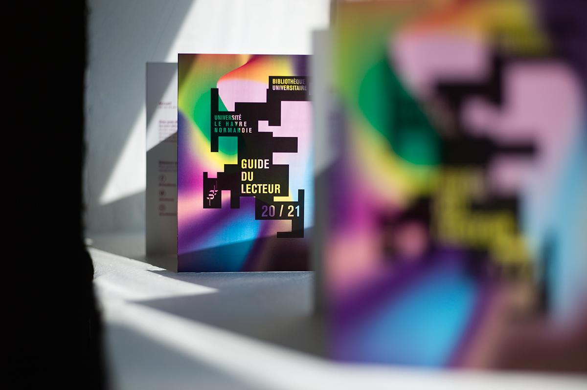 Virgile Laguin – Diary | 02.09.2020 | Guide du lecteur et calendrier 2020/2021 BU Le Havre | Cardboard, Identity, Print