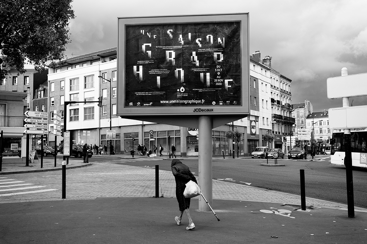 Virgile Laguin – Diary | 09.10.2020 | Affiche Une Saison Graphique 2020 | Identity, Poster, Print, Silkscreen