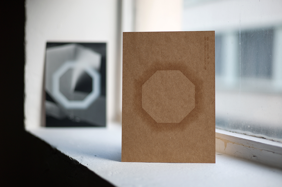 Virgile Laguin – Diary | 03.01.2021 | Carte de vœux 2021 | Cardboard, Print, Silkscreen