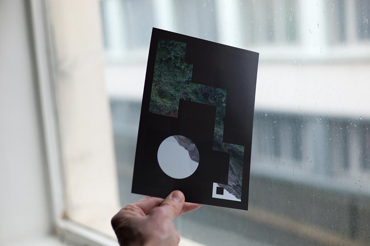 Virgile Laguin – Diary | 16.01.2021 | Carte de vœux 2021 PY | Cardboard, Print