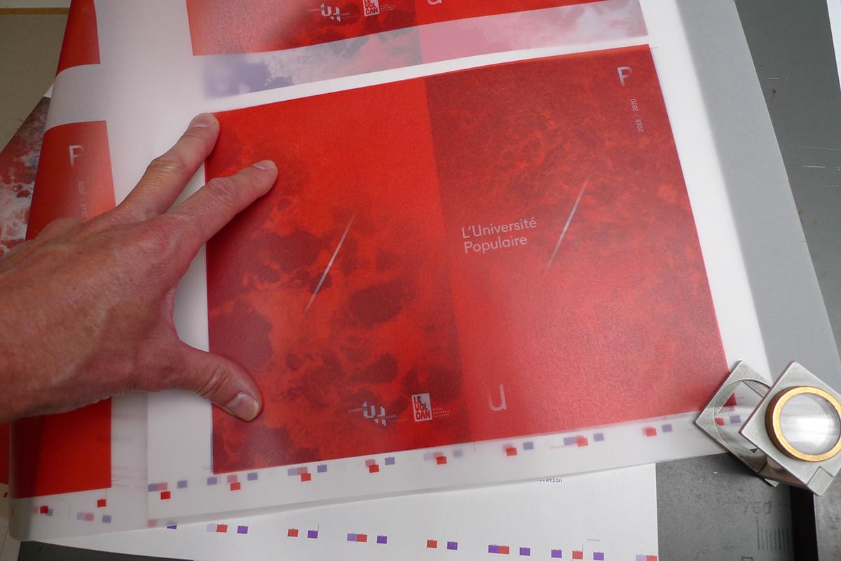 Virgile Laguin – Diary | 17.09.2019 | Catalogue 2019/2020 Université Populaire | Catalog, Identity, Print