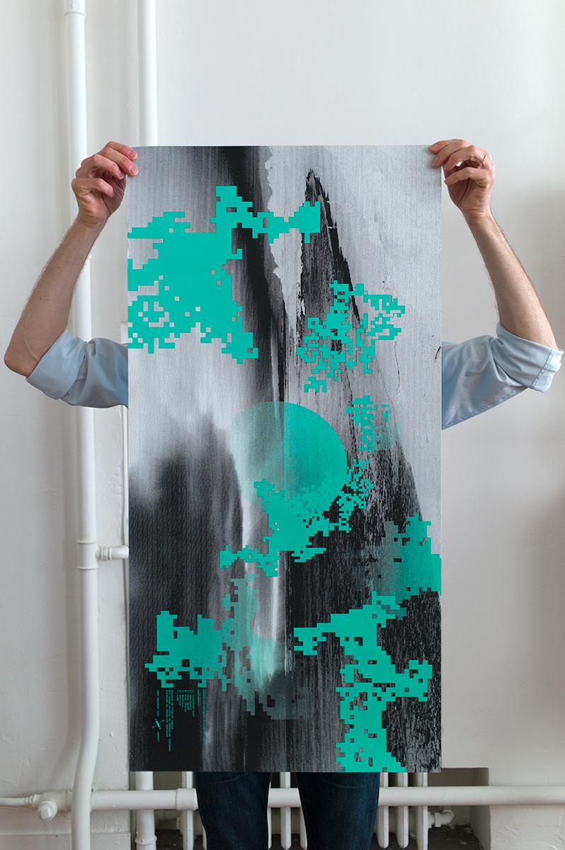 Virgile Laguin – Diary | 20.02.2021 | ONTO Records | Poster, Print, Silkscreen
