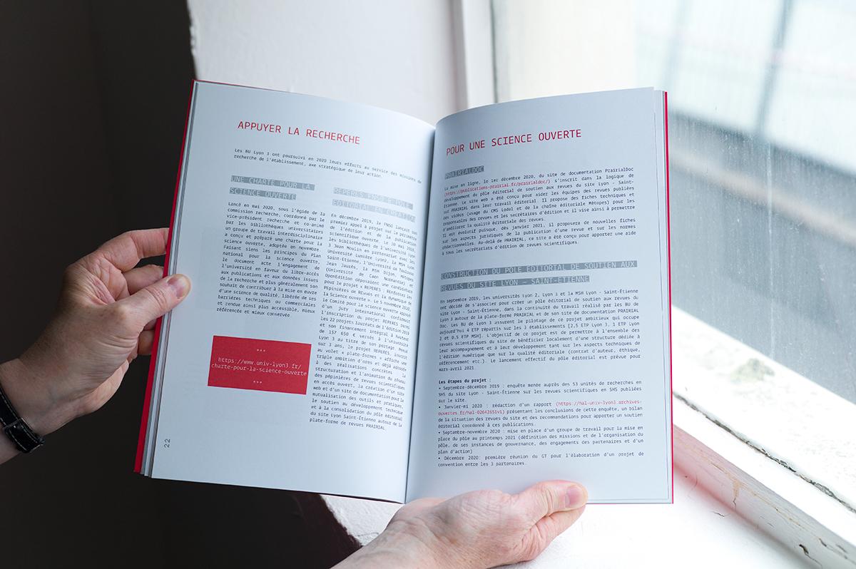 Virgile Laguin – Diary | 25.04.2021 | Rapport annuel 2020 BU Lyon 3 | Catalog, Print