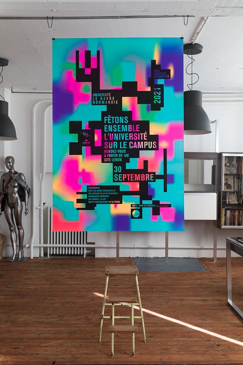 Virgile Laguin – Diary | 22.09.2021 |  | Identity, Poster, Print, Silkscreen